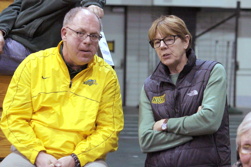 JOSH FRANCIS | THE SPECTRUM Women's Athletic Director Lynn Dorn said she holds an unusual position in athletics as most programs have changed the title to senior associate director or senior women administrator.