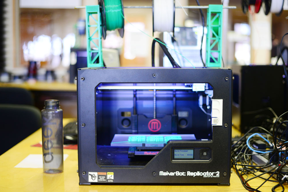MATAYA ARMSTRONG | THE SPECTRUM NDSU is keeping up with the times, as their latest technology edition includes six printers with three-dimensional production capabilities.