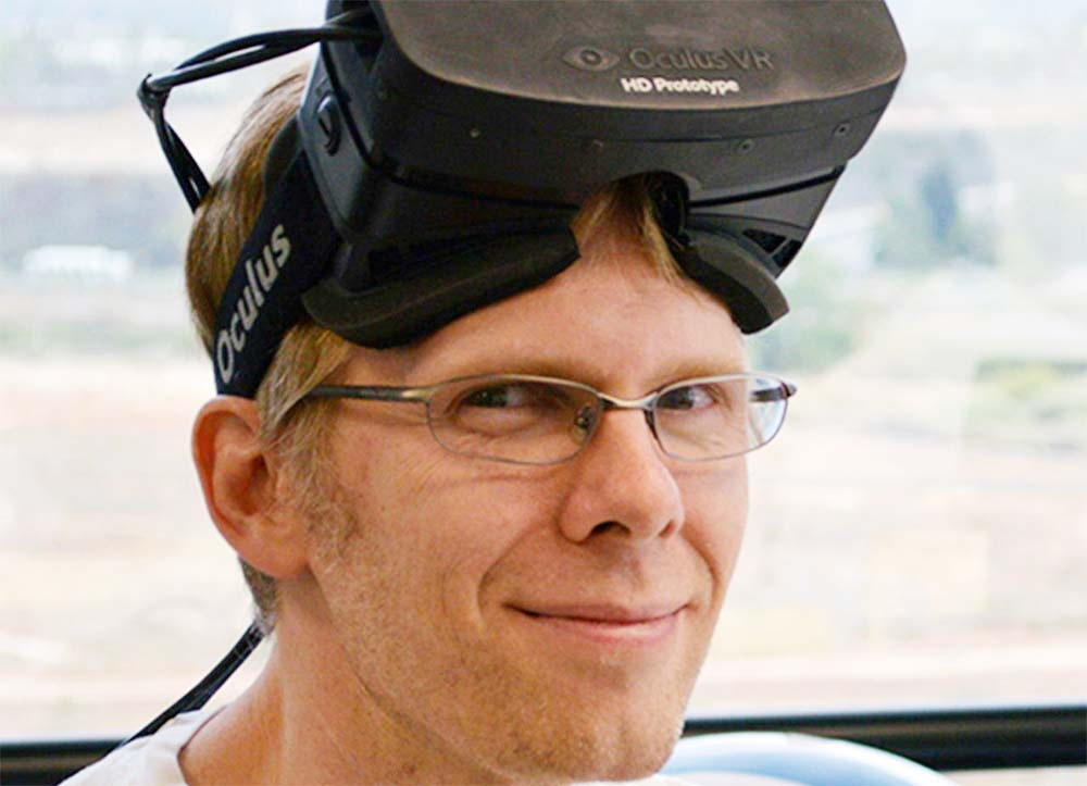 Virtual Reality might win Long Term – John Carmack