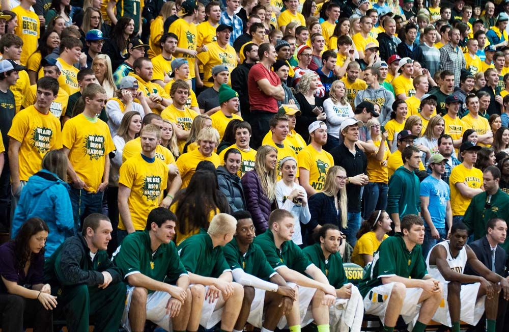 STOCK PHOTO | THE SPECTRUM NDSU took part in NCAA's 6th Fan competition in hopes of receiving $100,000, but fell short to Brigham Young University.