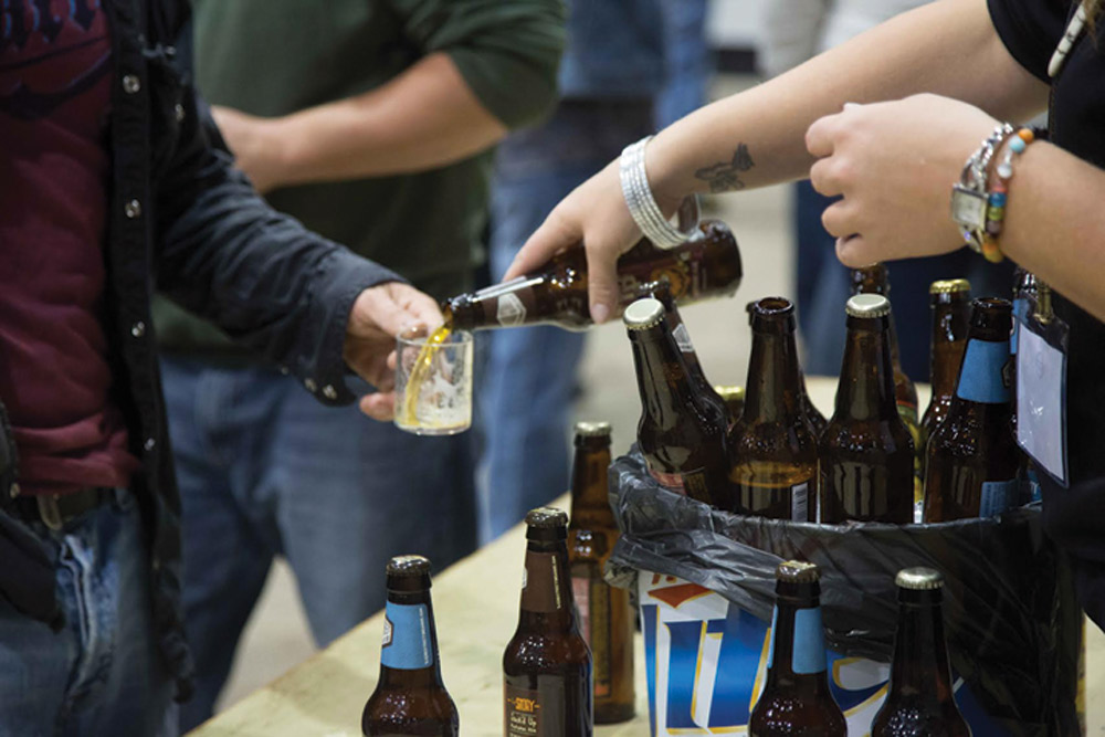 PHOTO COURTESY | JASMINE MAKI The Fifth Annual Fargo Beer Festival is poised to present dozens of specialty and premium craft brews this Friday night.