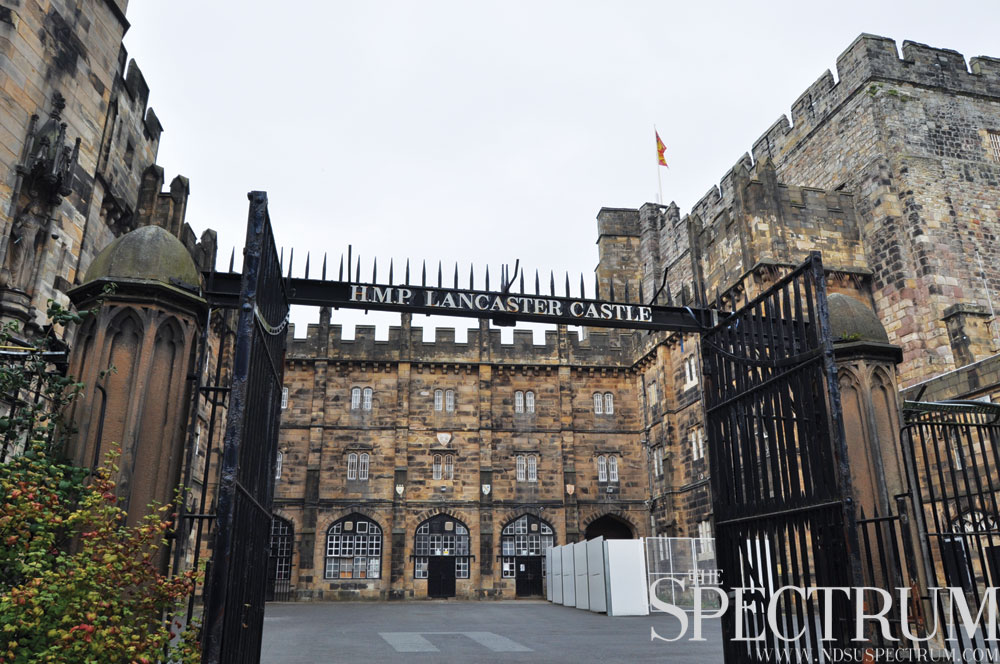 LINDA NORLAND | THE SPECTRUM All the hard work pays off when visiting historical sites like Lancaster Castle.