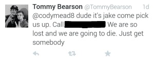 This tweet was sent 1:23 a.m. Sept. 20. Call campus police if you have any information regarding the disappearance.