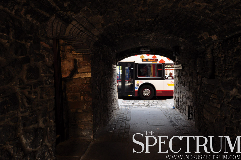 LINDA NORLAND | THE SPECTRUM The small city holds many discoveries from sights from sidewalks to nearby tunnels.