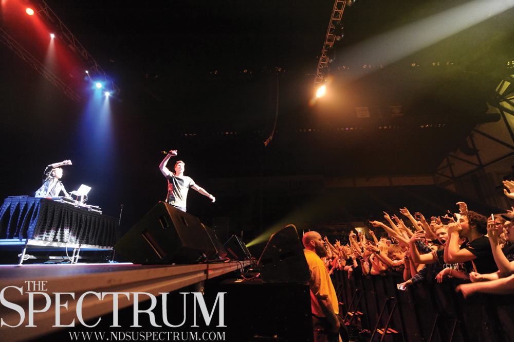 FILE PHOTO | THE SPECTRUM Timeflies, shown here in concert at the Fargodome last May, return to Fargo on Friday for a concert at The Venue.