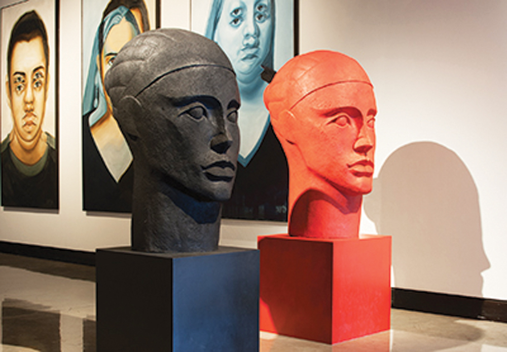 COURTESY OF | PLAINS ART MUSEUM Art Boom, the area's first tri-college faculty art show, is an excellent option for early week entertainment.