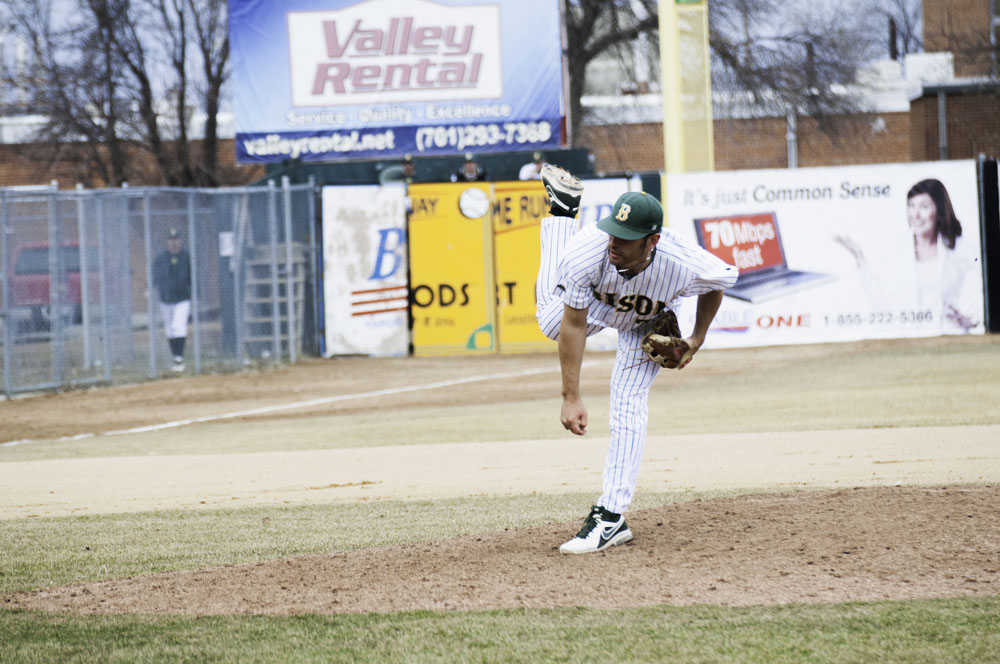 FILE PHOTO   THE SPECTRUM Trevor Jaunich and the NDSU baseball team are looking to repeat as Summit League tournament champions this season.