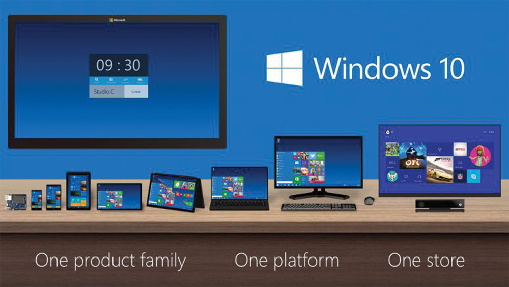 MICROSOFT.COM | PHOTO COURTESY Microsoft unveils the upcoming Windows 10 operating system.