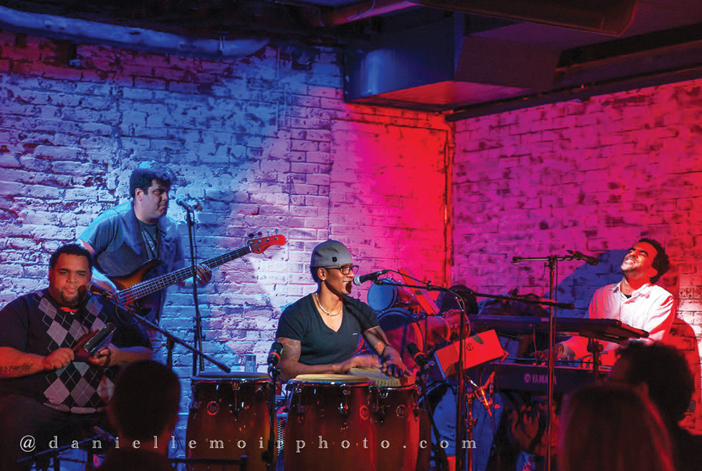 DANIELLE MOIR   PHOTO COURTESY The Pedrito Martinez Group, a Cuban jazz quartet, is leaving its nest of New York City to explore the country on tour.