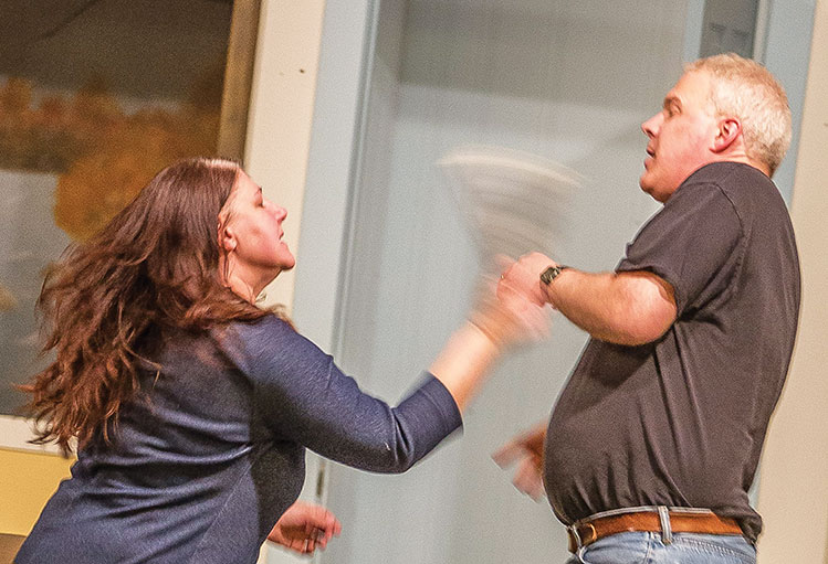 PERRY RUST | PHOTO COURTESY Shanara Lassig and Scott Horvik return to the Harwood Prairie Playhouse after five and 14 years, respectively