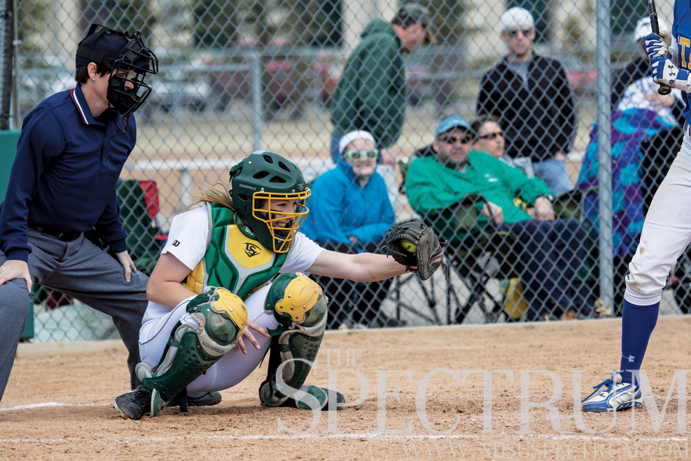 KIMBERLY HILL | THE SPECTRUM Alyssa Reina has been a commanding force after coming back from a shoulder surgery during the 2014 season.