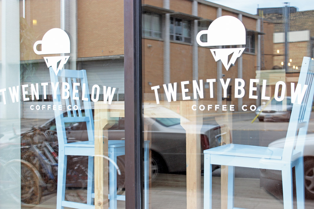 TESSA BECK | THE SPECTRUM Twenty Below Coffee Co. specializes in natural ingredients, local brewing and cultivating community.