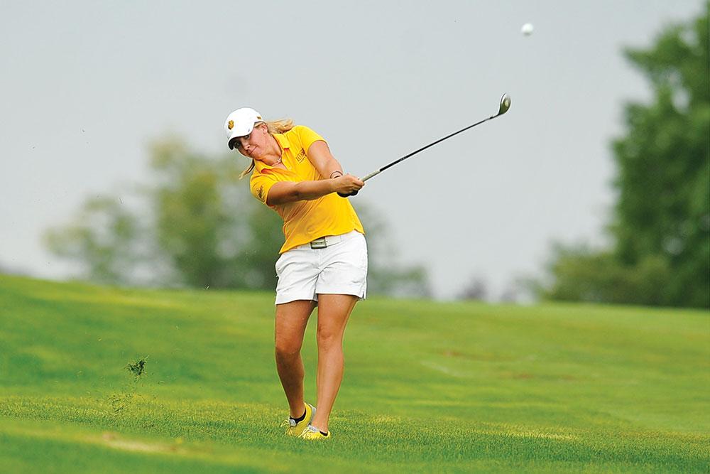 DENNIS HUBBARD   PHOTO COURTESY Sarah Storandt provides a veteran presence for the Bison women's golf team.