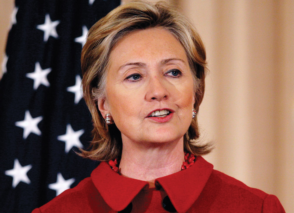 COURTESY OF | GG2.NET Secretary of State, Hilary Clinton, recently announced her intent to campaign for presidency in 2016.