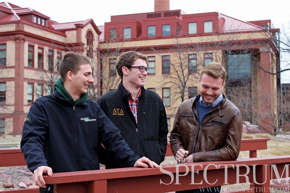 TESSA BECK | THE SPECTRUM (From left to right: Paul Subart, Jon Lipp and Matt Wagenius) Balancing the hectic nature of campaigning is somewhat aided by the team's dedication to specified roles.