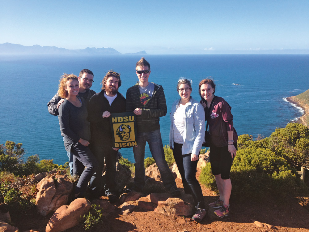 students traveled to South Africa this past summer
