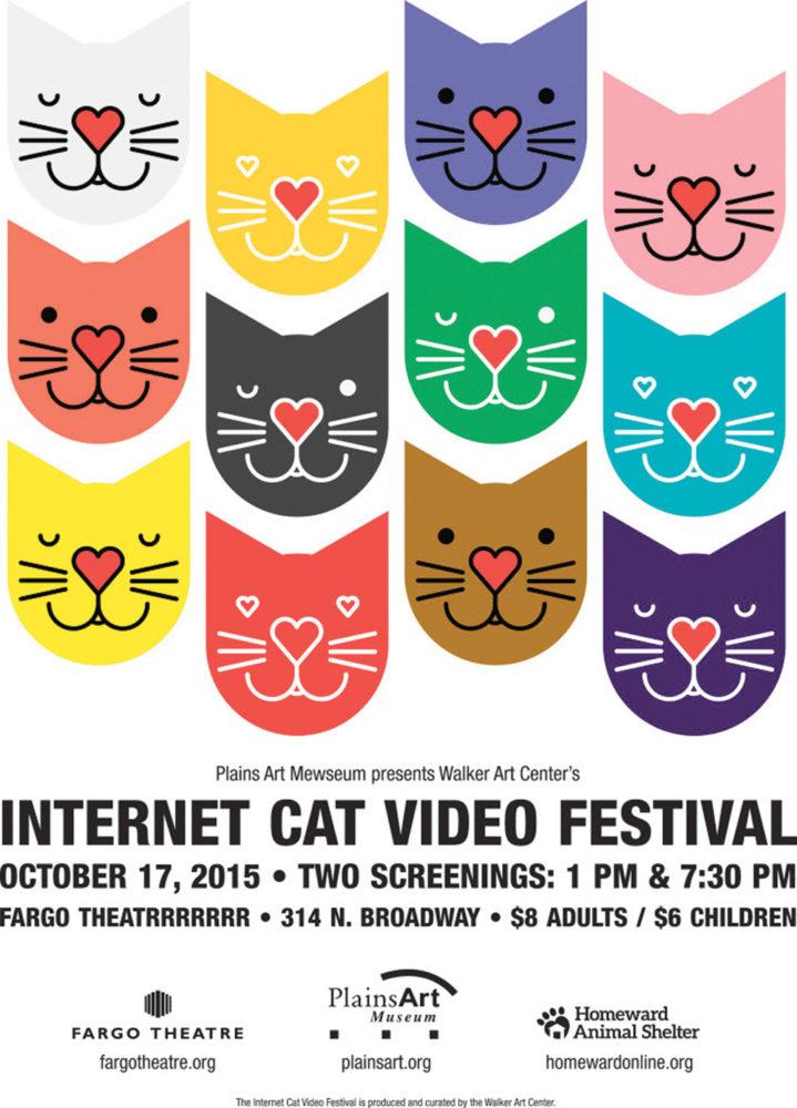 cat festival poster