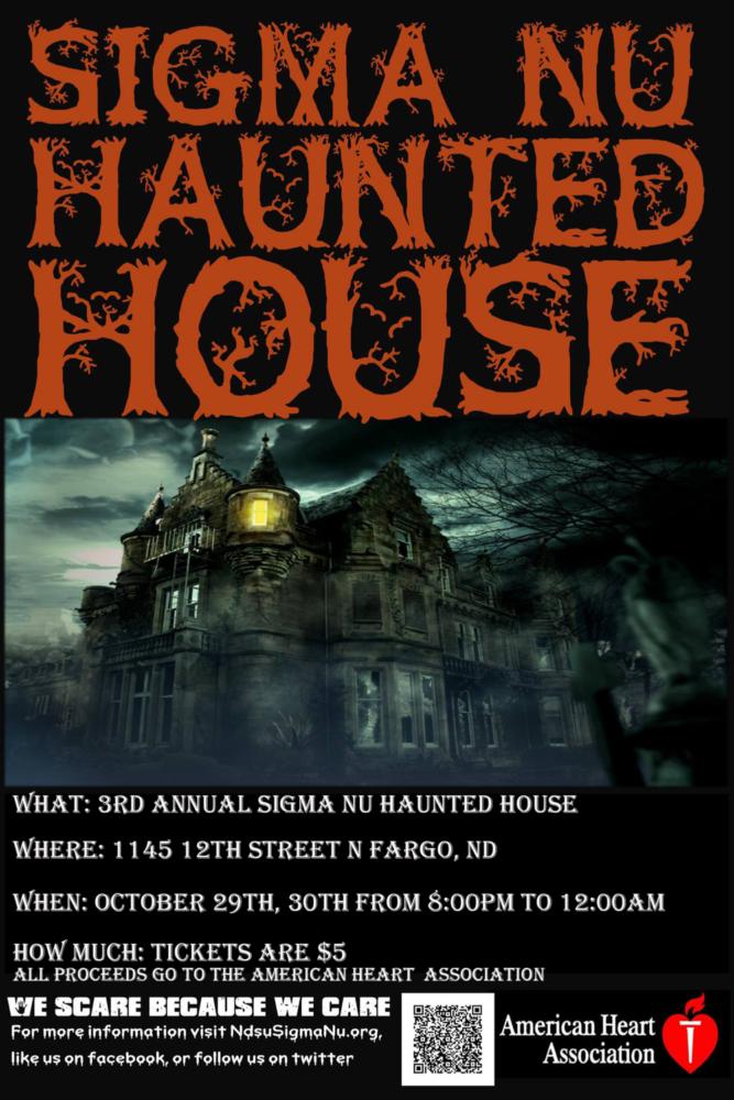 sigma nu haunted house