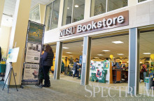 GABBY HARTZE | THE SPECTRUM  Despite deals on clothing and art supplies, the NDSU Bookstore will not offer electronics deals.