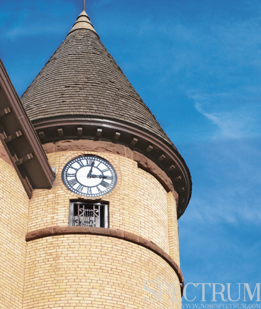 old main's clock