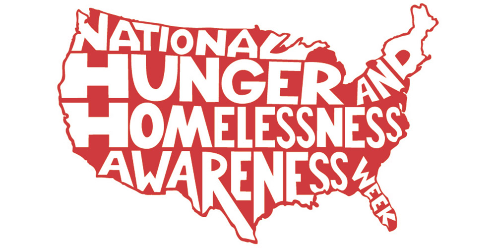 National Coalition for the Homeless | Photo Courtesy The main logo for the 2015 week of National Homeless and Hunger Awareness.