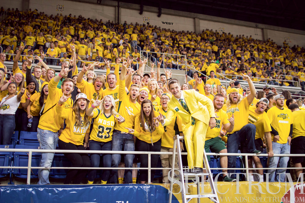 FILE PHOTO | THE SPECTRUM Students currently fund 7 percent of NDSU Athletics' budget, or $1.4 million.