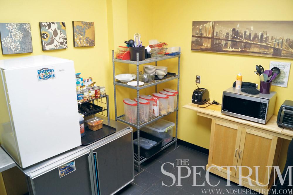 gluten-free room on campus