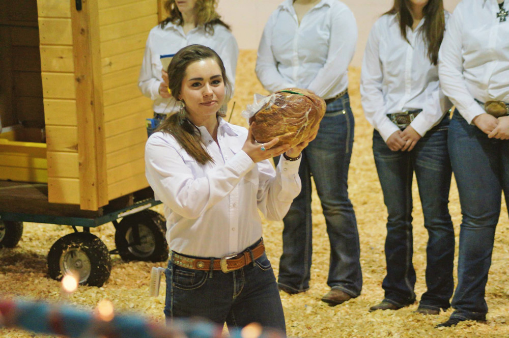 Elli Lemm and her cured ham