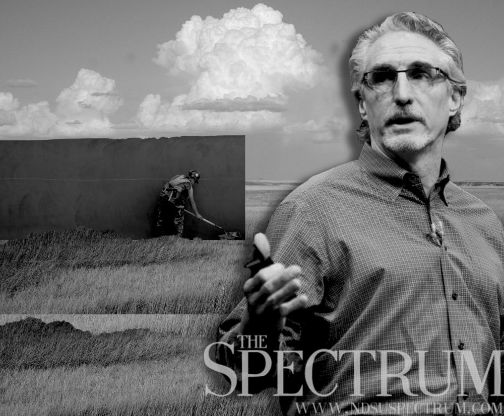 burgum and his wall