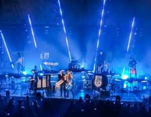 EMILY DOCKTER Photo Credit | Australian band For King and Country performed at the Civic Center Saturday night