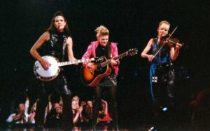 "WIKIPEDIA.ORG Photo Courtesy | The iconic Dixie Chicks performed ""Daddy's Lessons"" with Beyoncé at the 50th annual CMAs"