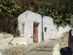PHOTO COURTESY Jordyn Meskan | Entrance to a cave home in Sacromonte.