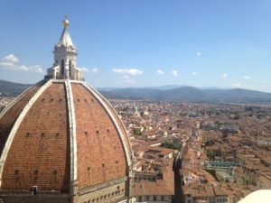 PHOTO COURTESY Jordyn Meskan | Beautiful views near the Duomo in Florence, Italy.
