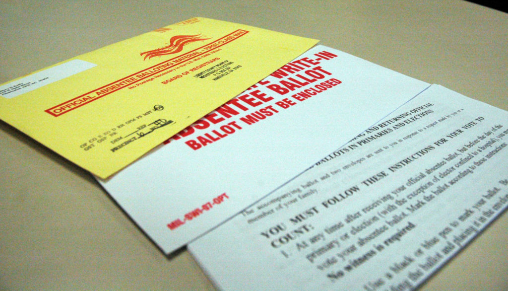 Witness signature dropped for absentee ballots during pandemic