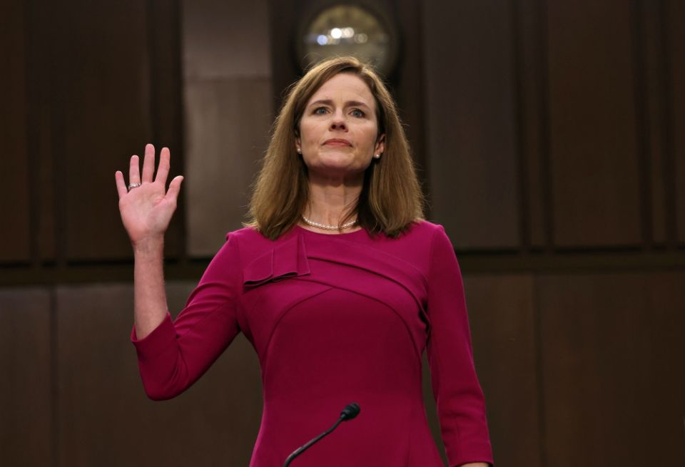 Amy Coney Barrett questioned in Supreme Court nomination hearings