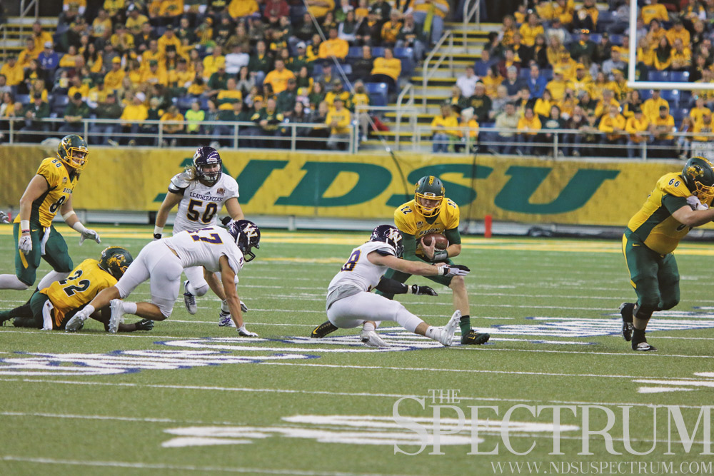 bison football against Youngstown State