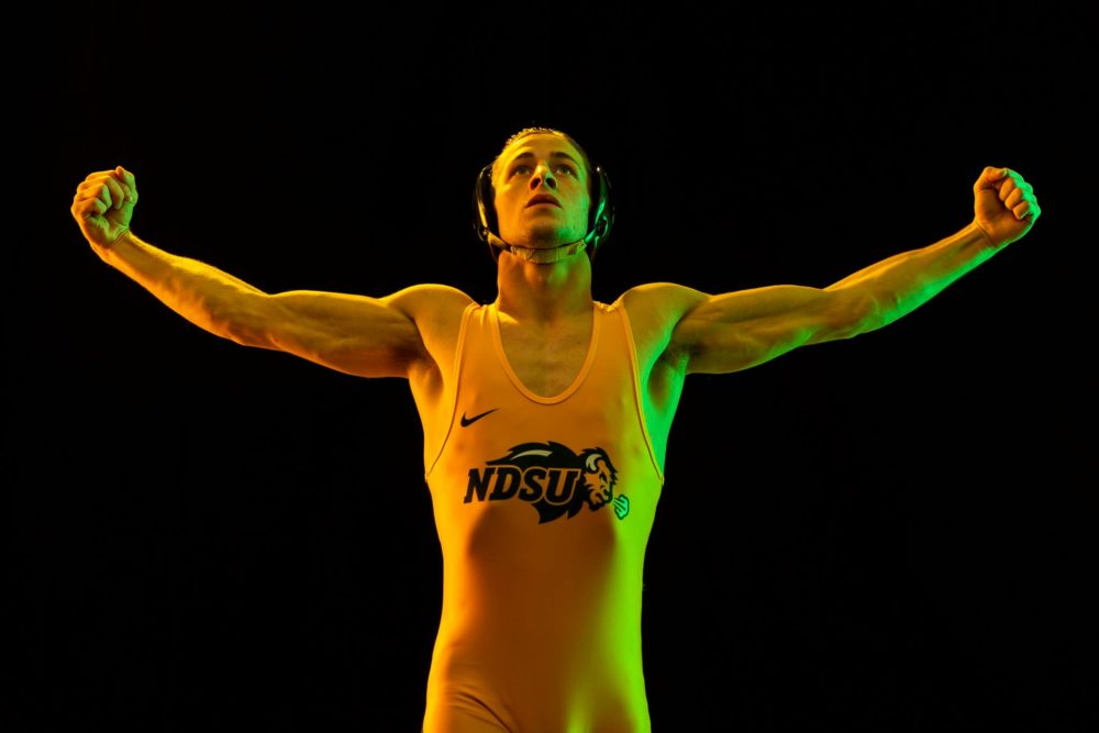 Bison wrestlers hit the NCAA Championships
